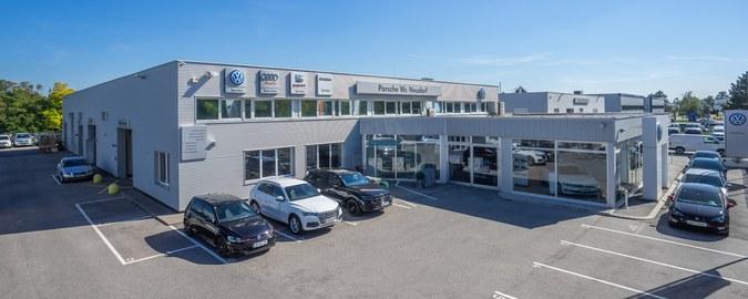 Porsche Wr. Neudorf: Autohaus & Servicebetrieb